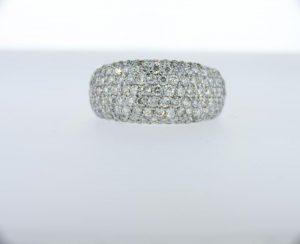 2.50ctw Pave Domed band